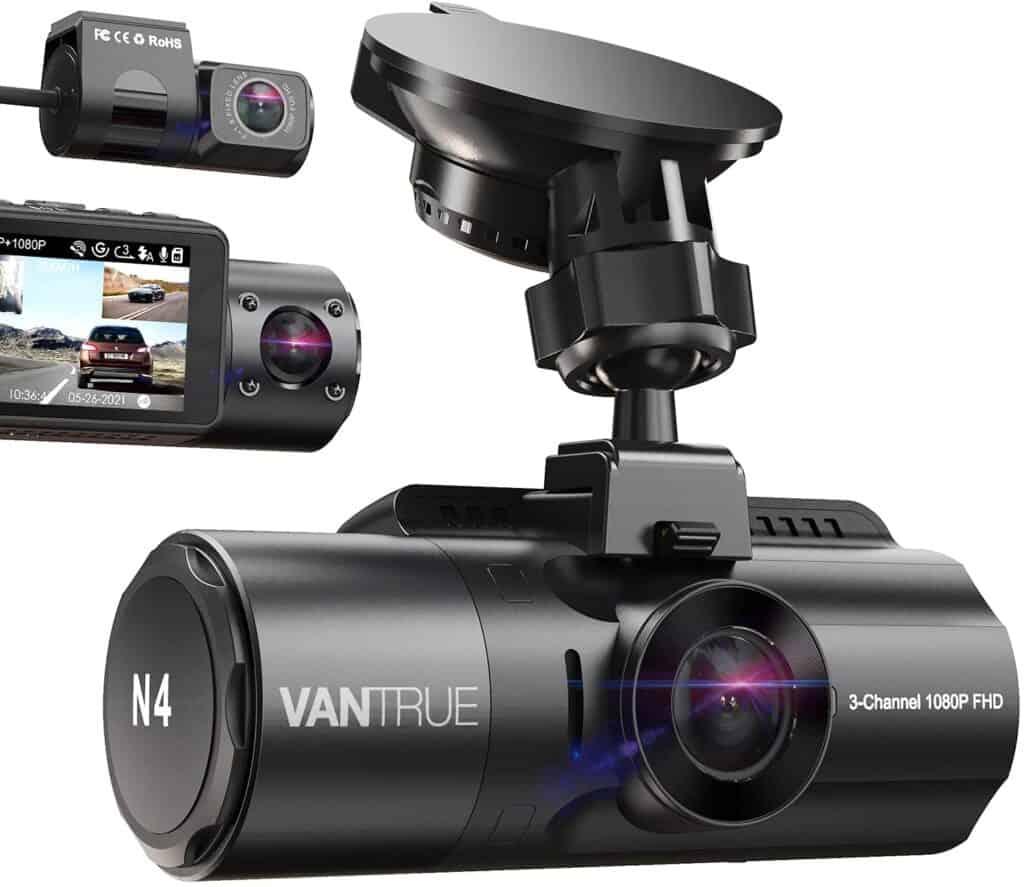 Best Anti Theft Dash Cam